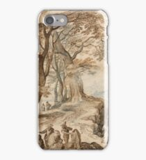 Jan Brueghel - Landscape With Tobias And The Angelca. 1595 iPhone Case/Skin
