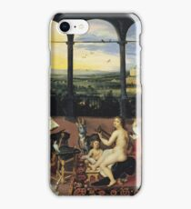 Jan Brueghel - An Allegory Of Hearing iPhone Case/Skin