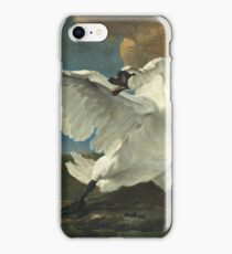 Jan Asselyn - The Threatened Swan iPhone Case/Skin