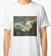 Jan Asselyn - The Threatened Swan Classic T-Shirt