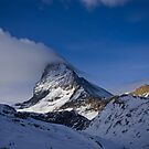 Clouds on the Matterhorn. by Steve plowman