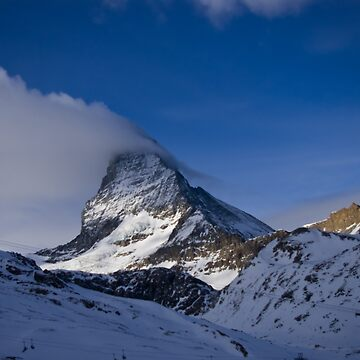 Clouds on the Matterhorn. by pluffy