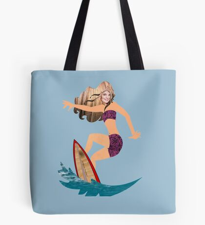 A surfer (4103 Views) Tote Bag