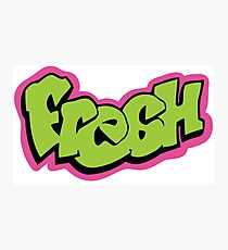 Fresh graffiti Photographic Print