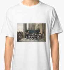 James Tissot - The Circle Of The Rue Royale1868 Classic T-Shirt