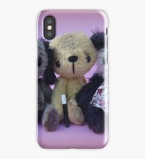 Scruffy Sooty, Sweep and Soo - Handmade bears from Teddy Bear Orphans iPhone Case/Skin