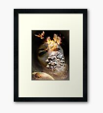 Language of the Heart Framed Print