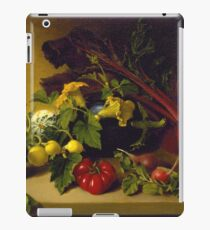 James Peale, Sr. - Still Life With Vegetables iPad Case/Skin
