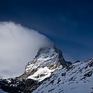 Clouds on The Matterhorn 3 by Steve plowman