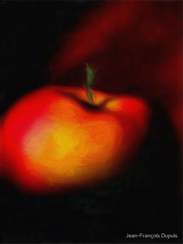 Red apple by Jean-François Dupuis