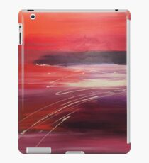 Purple Ripples iPad Case/Skin