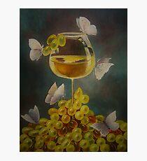 Wine, nectar.  Photographic Print