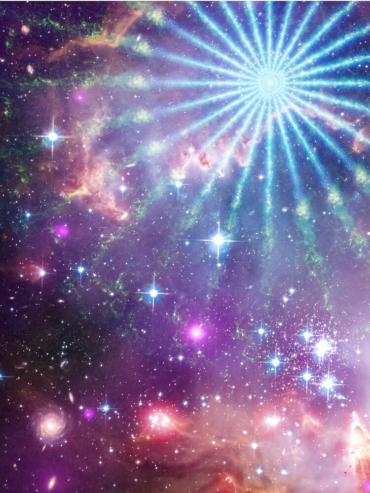 Cosmic Pinwheel by postlopez