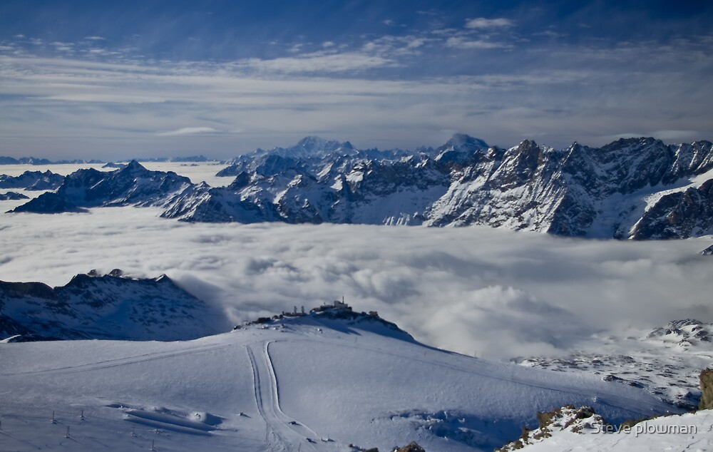 Really on top of the world by Steve plowman