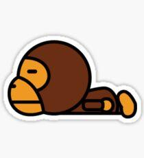 bape baby milo sticker Sticker