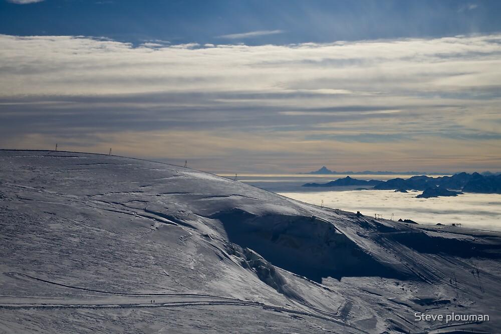 Mountain landscape by Steve plowman