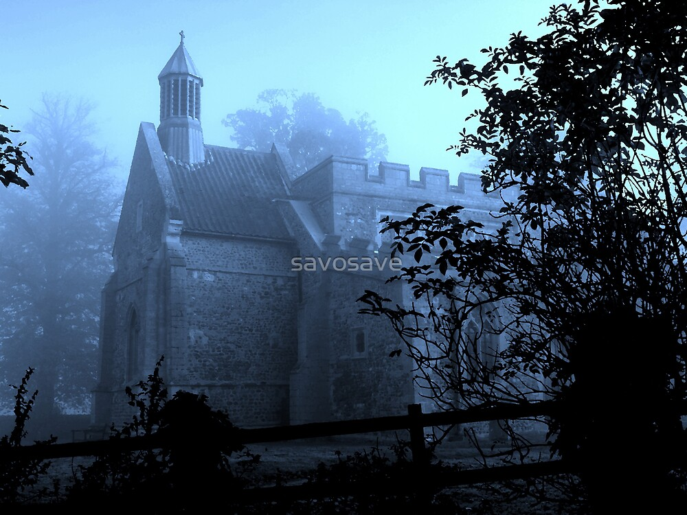 misty church  by savosave