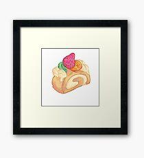 sweet roll Framed Print