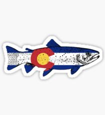 Fish Colorado Sticker