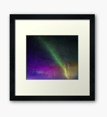 Dazzling lights X Framed Print