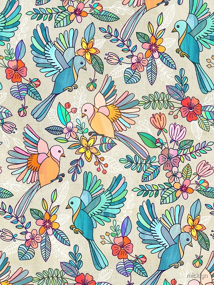 Whimsical Summer Flight by micklyn