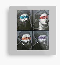 NINJA TURTLES RENAISSANCE Metal Print
