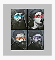 NINJA TURTLES RENAISSANCE Photographic Print