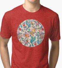 Whimsical Summer Flight Tri-blend T-Shirt