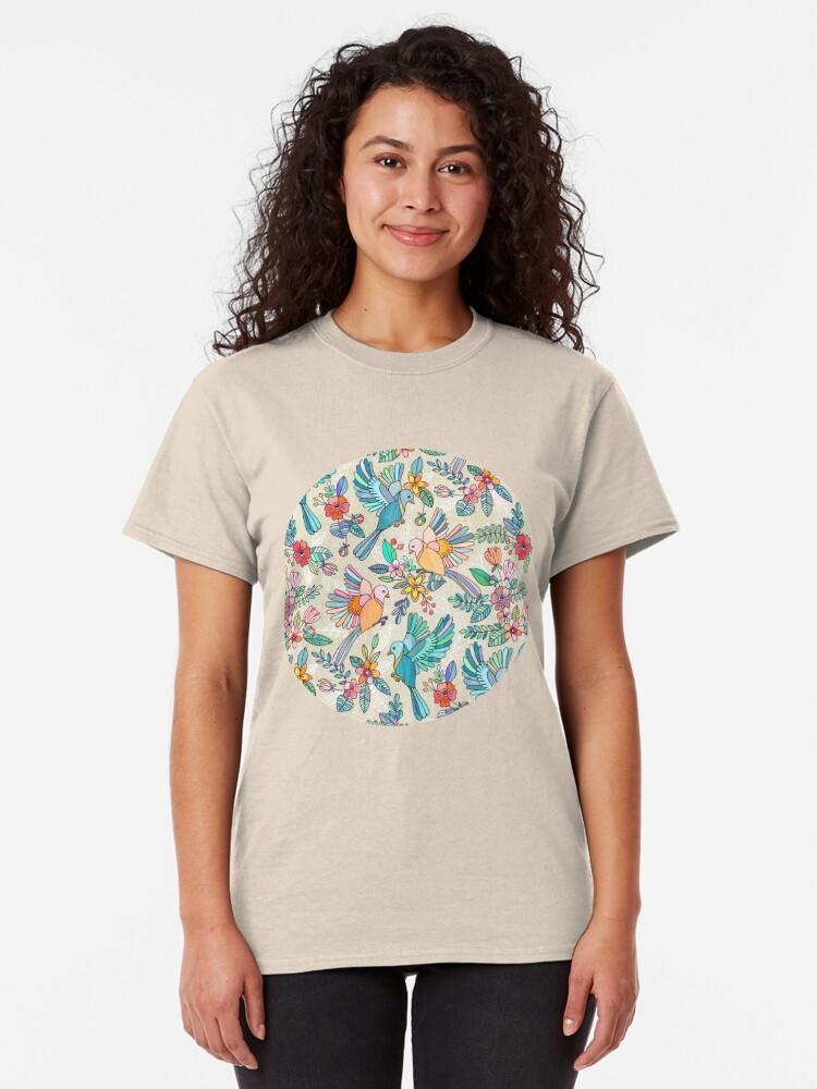 Alternative Ansicht von Wunderlicher Sommerflug Classic T-Shirt