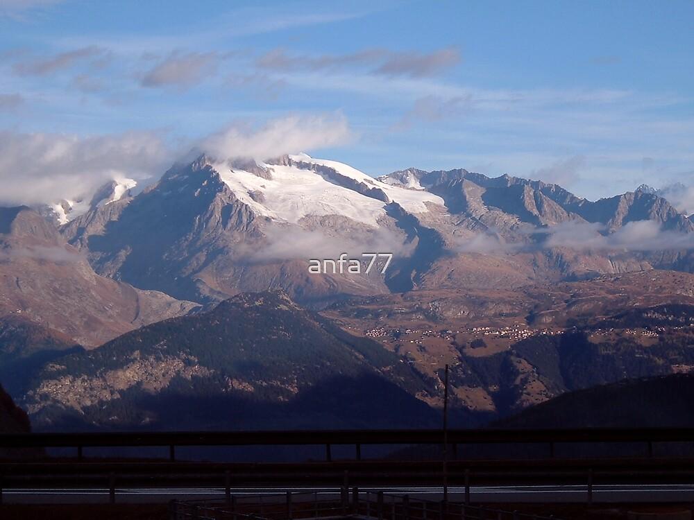 swiss alps in summer by anfa77