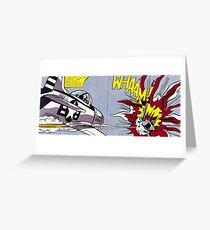 Whaam! - Roy Lichtenstein Print Greeting Card