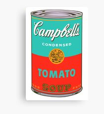 Campbell's Soup Can - Andy Warhol Print Canvas Print