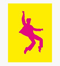 Pink Elvises Photographic Print