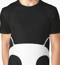 Cute Panda Graphic T-Shirt