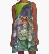 Reiki A-Line Dress