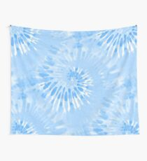 Tie Dye Blue hippy Wall Tapestry