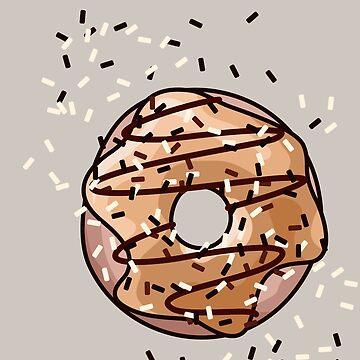 Carmel Donut by XOOXOO