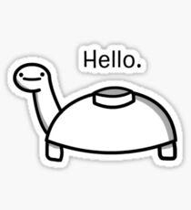 Mine Turtle Sticker