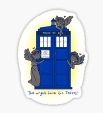 Weeping Angels - Doctor Who Sticker