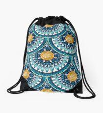 Blue Time Drawstring Bag