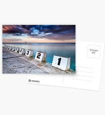 Merewether Ocean Baths - The Starting Blocks  Postcards