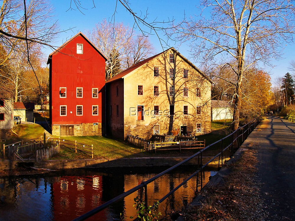 Two Mills by Bridges