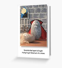 Drockula Greeting Card