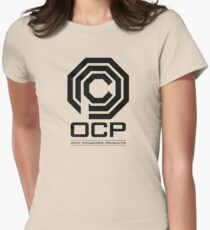 Robocop - OCP Omni Consumer Products Womens Fitted T-Shirt