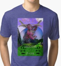 MODEM/PARK ~ COME FLY WITH ME  Tri-blend T-Shirt