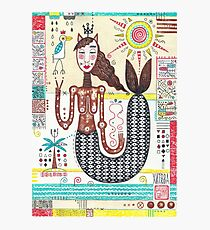 Mermaid from crazy world Photographic Print