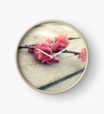 Apple blossom Clock