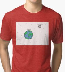 Galaxy of Love Tri-blend T-Shirt
