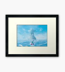 Fresh Air by the Sea  Framed Print