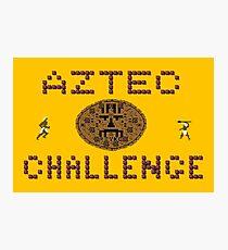 Gaming [C64] - Aztec Challenge Photographic Print